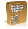 Buy PLR Article/eBook - Student Loan Consolidation