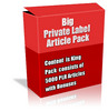 Buy Big Private Label Article Pack with Bonus