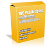 Buy 100 PLR Articles on Fitness & Weight Loss + Bonuses