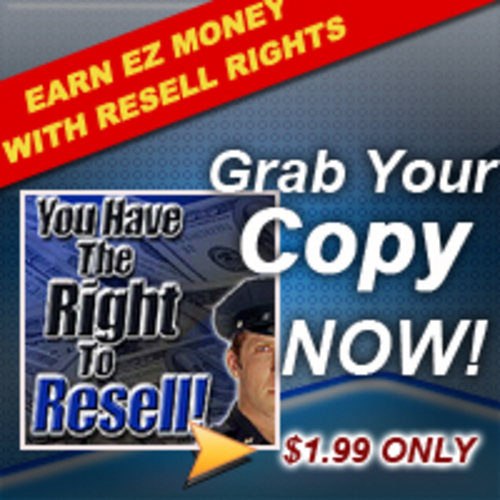 Product picture Cheap eBook - How to Make Money with Resell Rights