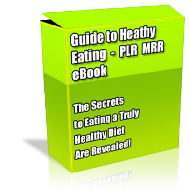 Product picture Buy PLR MRR eBook - Guide to Healthy Eating *High Quality*