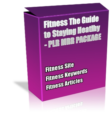 Product picture Buy PLR Pack - Fitness Guide to Staying Healthy *Quality*