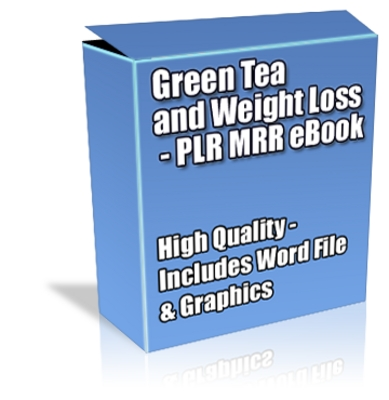 Product picture Buy PLR MRR eBook - Green Tea & Weight Loss *High Quality*