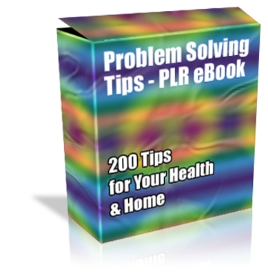 Product picture Cheap PLR eBook - 200 Problem Solving Tips