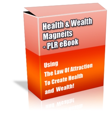 Product picture Buy PLR eBook - Health and Wealth Magnetism