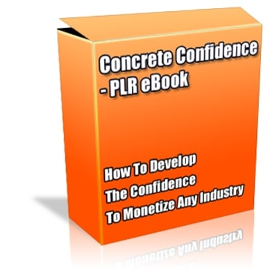 Product picture Buy PLR eBook - Concrete Confidence