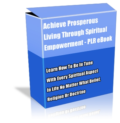 Product picture Buy PLR eBook - Achieve Prosperous Living