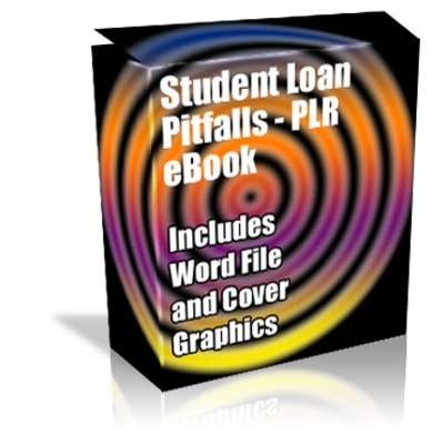 Product picture Buy PLR Article/eBook - Student Loan Pitfalls