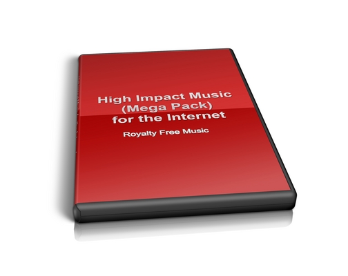 Product picture Buy Royalty Free Music - High Impact Music Optimized for the Internet