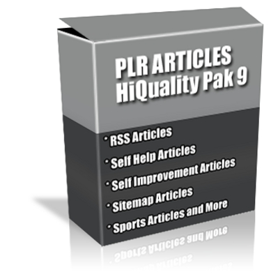 Product picture Buy PLR Articles Hi-Quality Pack 9 with Bonus