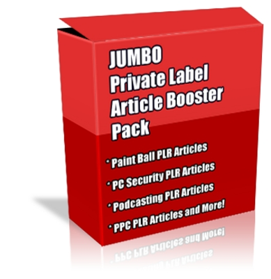Product picture Buy JUMBO Quality PLR  Booster Pack + Special Bonuses