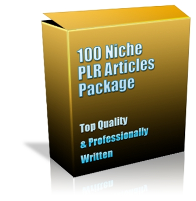 Product picture Buy 100 Niche PLR Articles + Special Bonuses